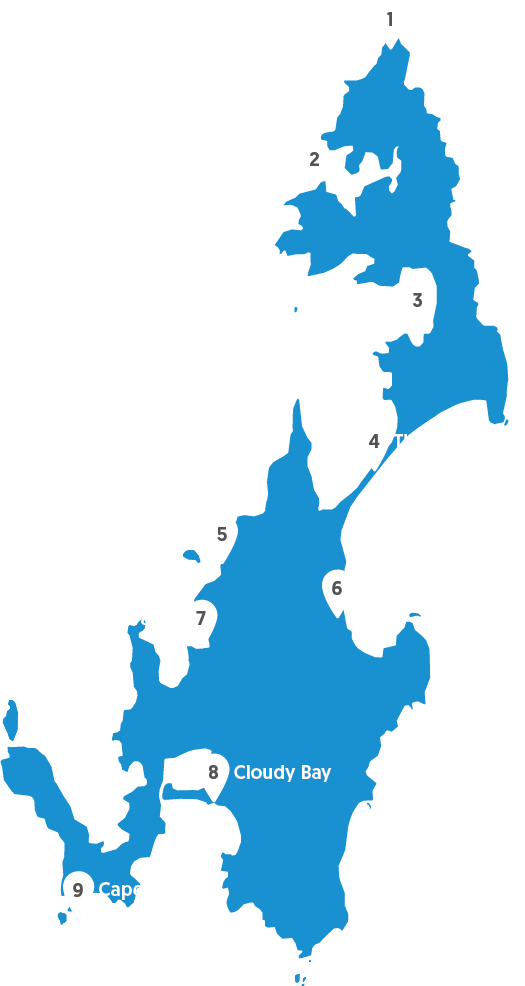 Bruny-Map-Locations